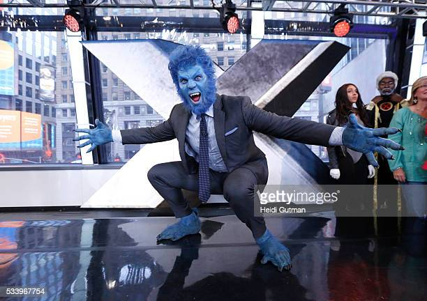 AMERICA The cast of of 'XMen Apocalypse' are on 'Good Morning America' 5/24/16 airing on the ABC Television Network JESSE