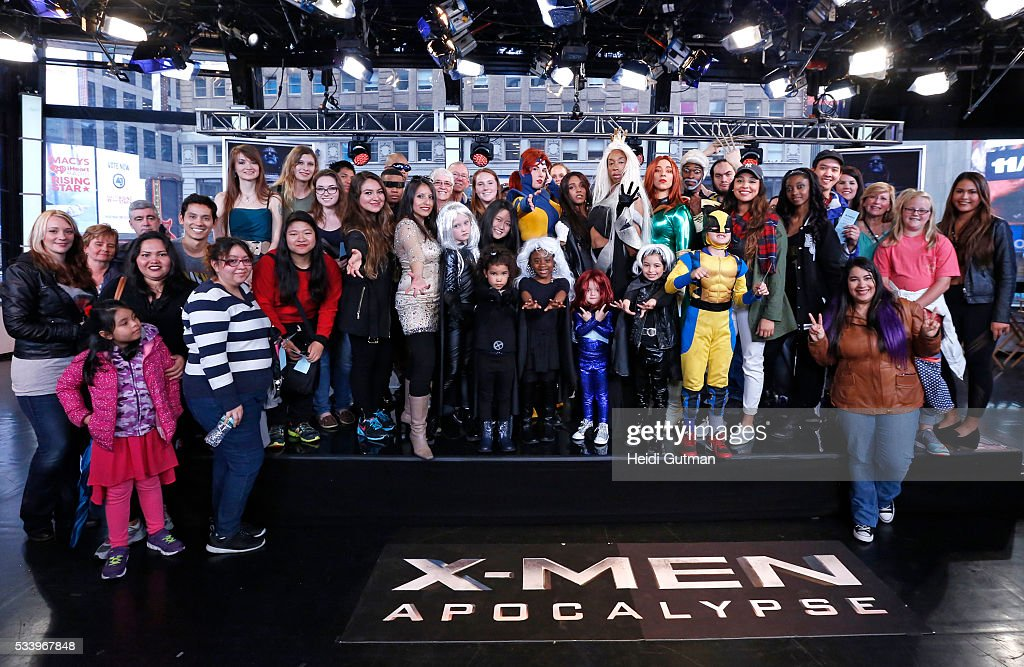 AMERICA - The cast of of 'X-Men: Apocalypse' are on 'Good Morning America,' 5/24/16, airing on the ABC Television Network. FANS