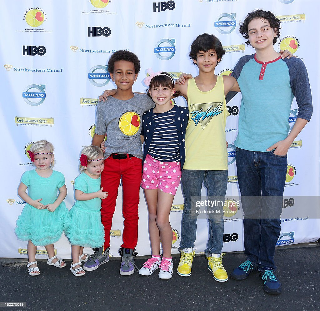 The cast of Parenthood attends the L.A. Loves Alex's Lemonade Event at the Culver Studios on September 28, 2013 in Culver City, California.