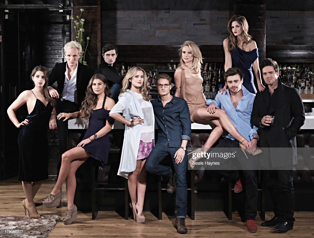 Cast of Made in Chelsea, Channel 4 UK, February 11, 2012