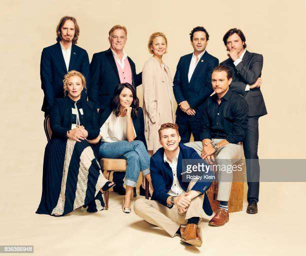 The cast of Rectify Ray McKinnon Bruce McKinnon J SmithCameron Abigail Spencer Adelaide Clemens Jake Austin Walker Luke Kirby Clayne Crawford and...
