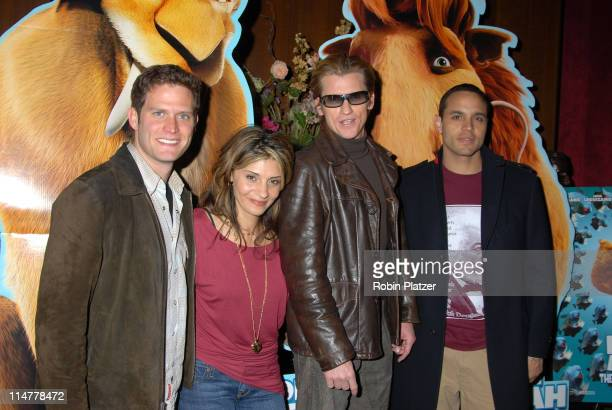 The cast of 'Rescue Me' Steve Pasquale Callie Thorne Denis Leary and Daniel Sanjuta