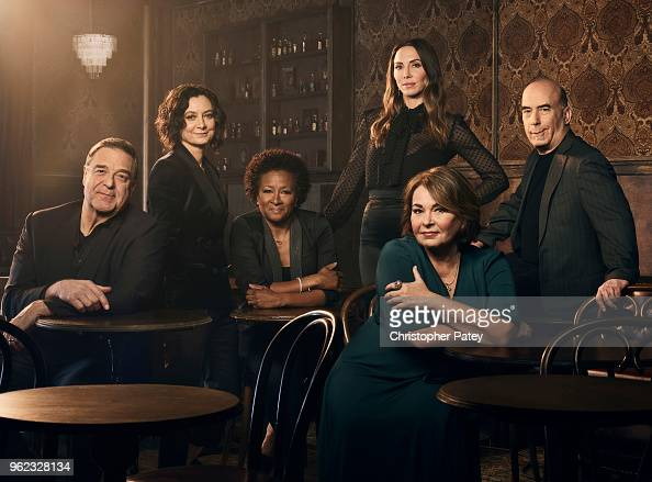 Cast of Roseanne, The