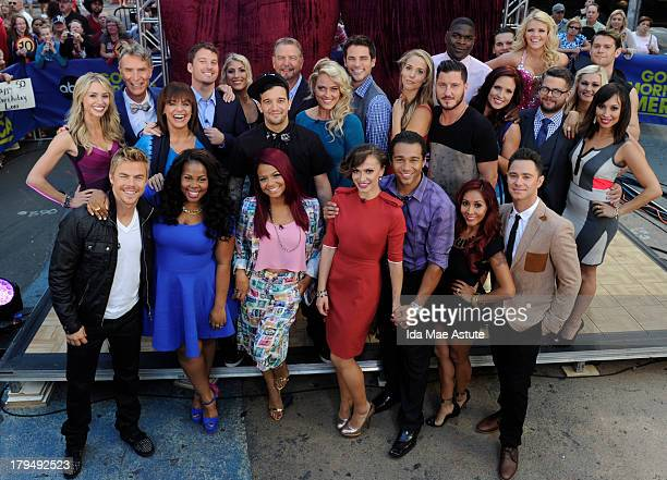 AMERICA The cast of Season 17 of 'Dancing With The Stars' is announced live on 'Good Morning America' 9/4/13 airing on the ABC Television Network...