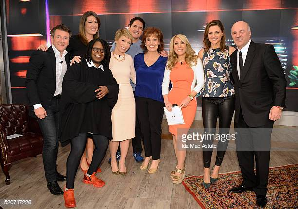THE VIEW The cast of 'Shark Tank' appears on 'THE VIEW' airing Tuesday 4/12/16 on the ABC Television Network LEARY