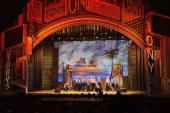 The cast of 'South Pacific' performs onstage during the 62nd Annual Tony Awards held at Radio City Music Hall on June 15 2008 in New York City