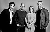 The Cast of 'Spotlight' actors Brian d'Arcy James John Slattery Rachel McAdams Liev Schreiber are photographed at the Toronto Film Festival for...