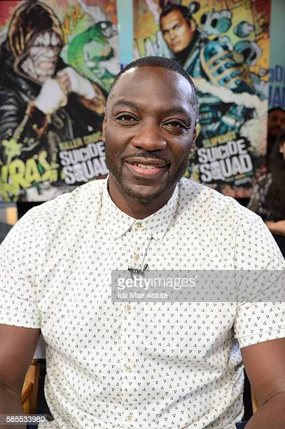 AMERICA The cast of 'Suicide Squad' takes over GOOD MORNING AMERICA 8/1/16 airing on the ABC Television Network ADEWALE