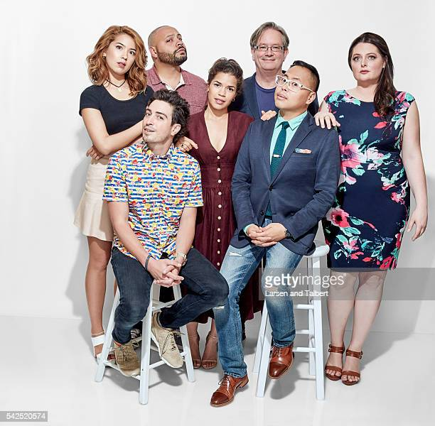 The cast of 'Superstore' is photographed for Entertainment Weekly Magazine at the ATX Television Fesitval on June 10 2016 in Austin Texas