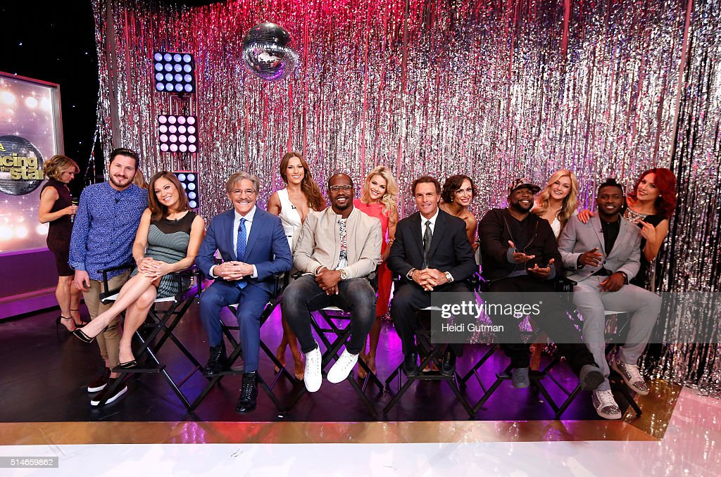 AMERICA The cast of the 22nd season of 'Dancing with the Stars' is revealed live on 'Good Morning America' 3/8/16 airing on the ABC Television...