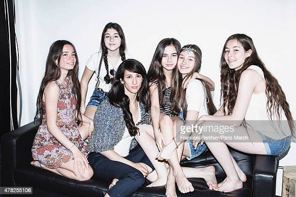 The cast of the film Mustang Elit Iscan Doga Zeynep Doguslu Deniz Gamze Erguven Gunes Nezihe Sensoy Llayada Akdogan and Tugba Sunguroblu are...