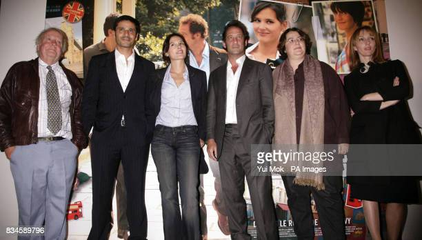 The cast of the film Richard Syms Pascal Elbe Virginie Ledoyen Vincent Lindon director Lorraine Levy and Mar Sodupe arrive for the gala premiere of...