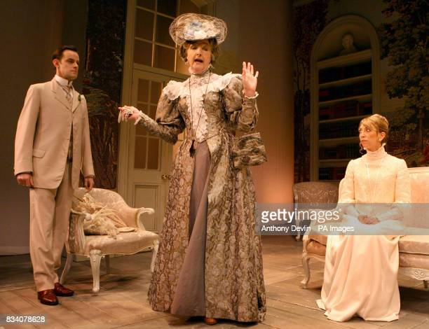 The cast of The Importance Of Being Earnest during a photocall at the Vaudeville Theatre The Strand London