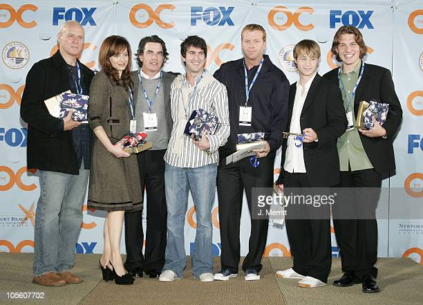 The Cast of 'The OC' during Cast And Producers of Fox Hit 'The OC' Receive Key to Newport Beach at The Historic Balboa Pavilion in Newport Beach...
