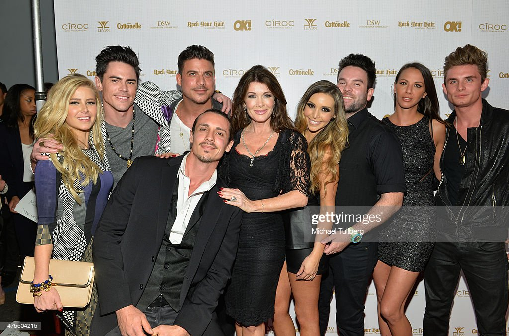 The cast of the reality show 'Vanderpump Rules' attend OK! Magazine's Pre-Oscar Party at Greystone Manor Supperclub on February 27, 2014 in West Hollywood, California.