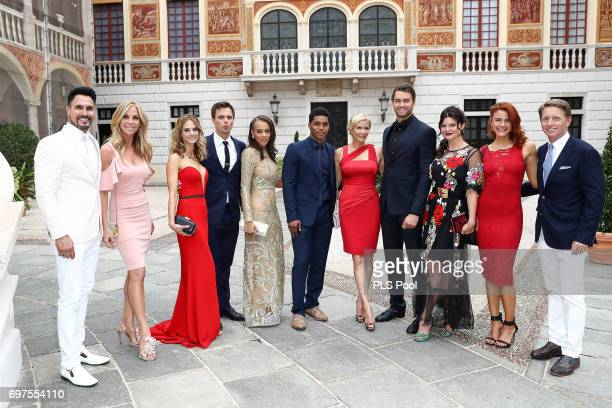 The Cast of the 'The Bold and The Beautiful' Don Diamont and wife Cindy Ambuehl Kelly Kruger Darin Brooks Reign Edwards Rome Flynn Katherine Kelly...