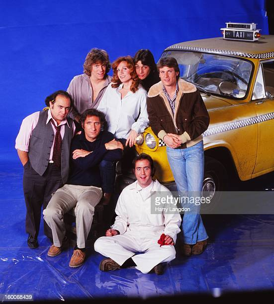 The cast of the TV series 'Taxi poses for a portrait in 1979 in Los Angeles California