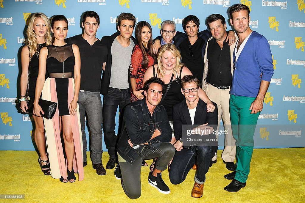 The Cast of the Vampire Diaries arrives at Entertainment Weekly's Comic-Con celebration at Float at Hard Rock Hotel San Diego on July 14, 2012 in San Diego, California.