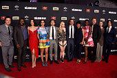 The cast of 'The Walking Dead' Josh McDermitt Chad L Coleman Lauren Cohan Alanna Masterson Steven Yeun Emily Kinney Andrew Lincoln Sonequa...