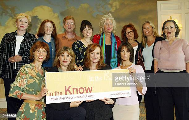 The cast of 'The Waltons' Michael Learned Kami Cotler Jon Walmsley Lisa Harrison Sally Kirkland Mindy Sterling Christie HouserSybil Goldria and Leigh...