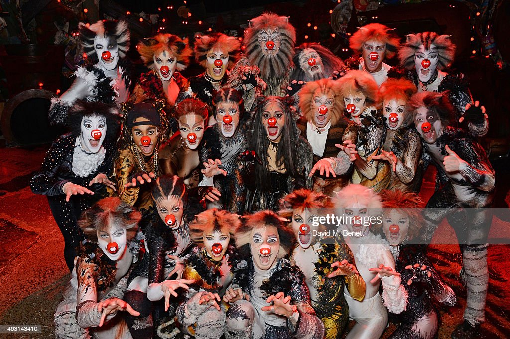 """The Cast Of """"Cats"""" Show Their Support For Red Nose Day ..."""