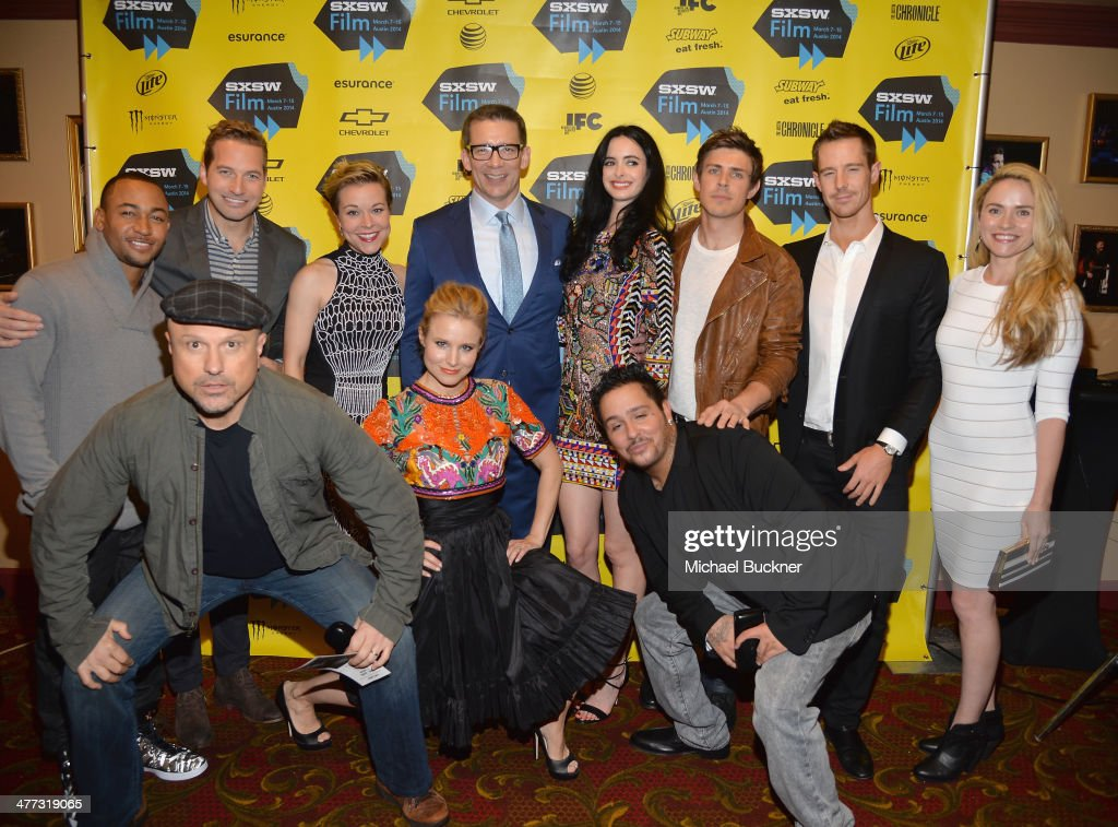 The cast of Veronica Mars attends the premiere of 'Veronica Mars' during the 2014 SXSW Music, Film + Interactive Festival at the Paramount Theatre on March 8, 2014 in Austin, Texas.