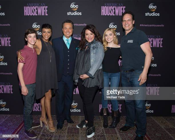 HOUSEWIFE The cast of ABC's 'American Housewife' attended the ABC Studios 'For Your Consideration' event at the Lucky Strike at Hollywood Highland in...