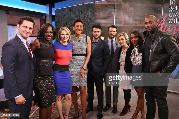 AMERICA The cast of ABC's 'How to Get Away With Murder' are guests on 'Good Morning America' 11/12/15 airing on the ABC Television Network