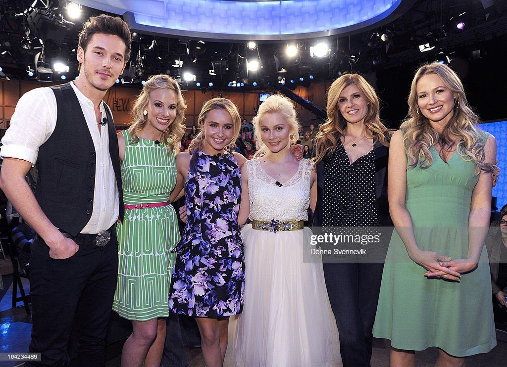 THE VIEW - The cast of ABC's 'Nashville' are interviewed and perform today, Wednesday, March 27, 2013 on 'The View.' Jewel is today's guest co-host. 'The View' airs Monday-Friday (11:00 am-12:00 pm, ET) on the ABC Television Network. BRITTON, JEWEL