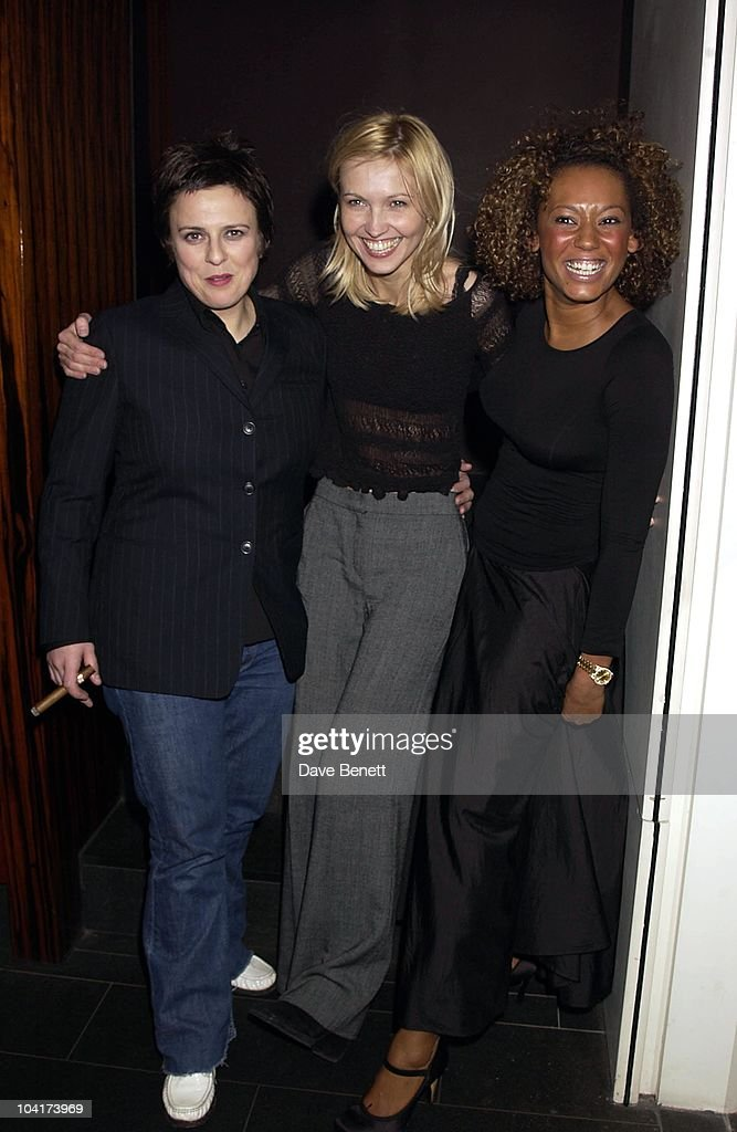 The Cast Rhona Cameron. Ingerborga Dapkaite And Mel B, The New Cast For Vagina Monologues Celebrated Their First Night Indoors.at The West Street Hotel, London