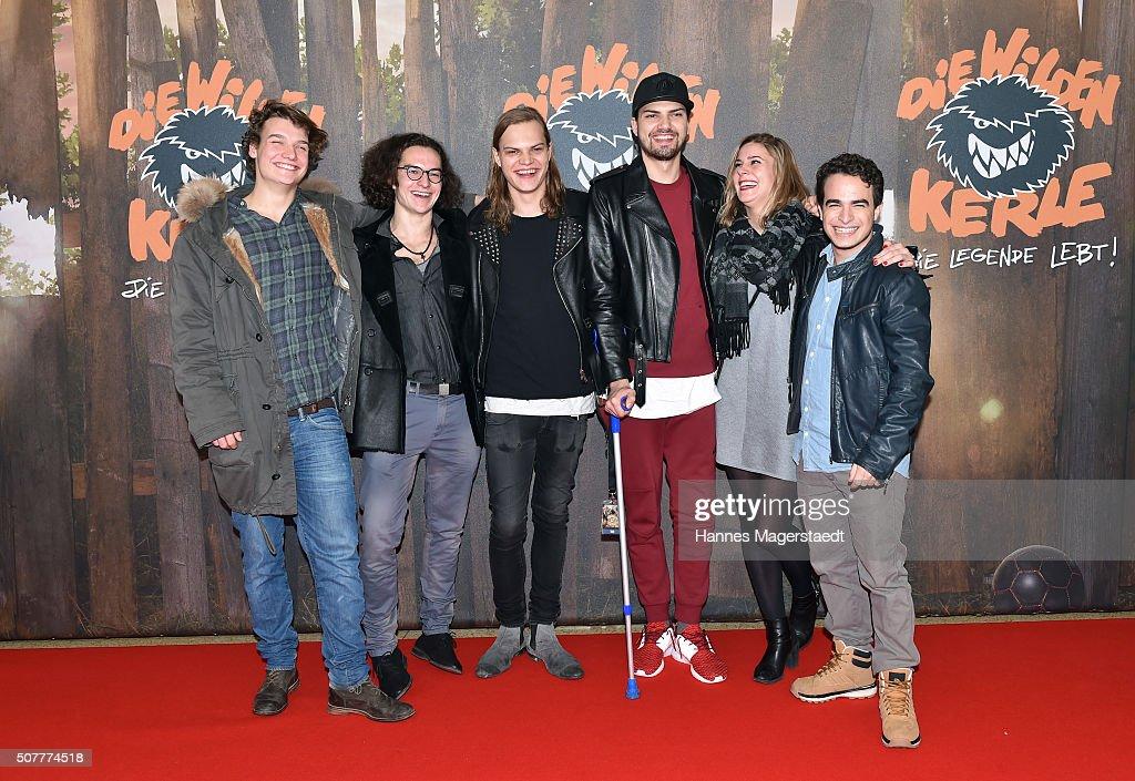 'Die Wilden Kerle: Die Legende Lebt' Premiere In Munich