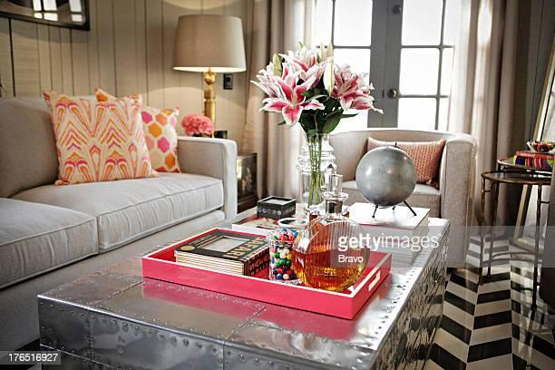 LEWIS 'The Castle' Episode 204 Pictured Living Room after renovation