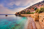 Alanya Castle and historical shipyard are one of the best preserved historic places in Turkey