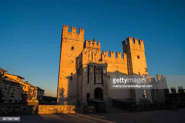 The Castle of Sirmione, lake Garda.
