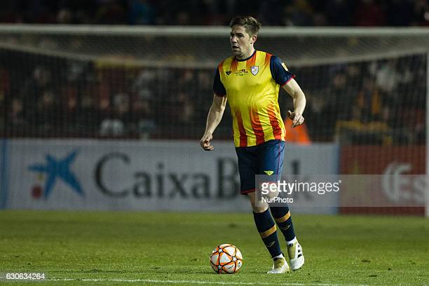 The Catalonia player Andreu Fontas of Celta de Vigo during the friendly football match between the selections of Catalonia vs Tunisia atthe stadium...