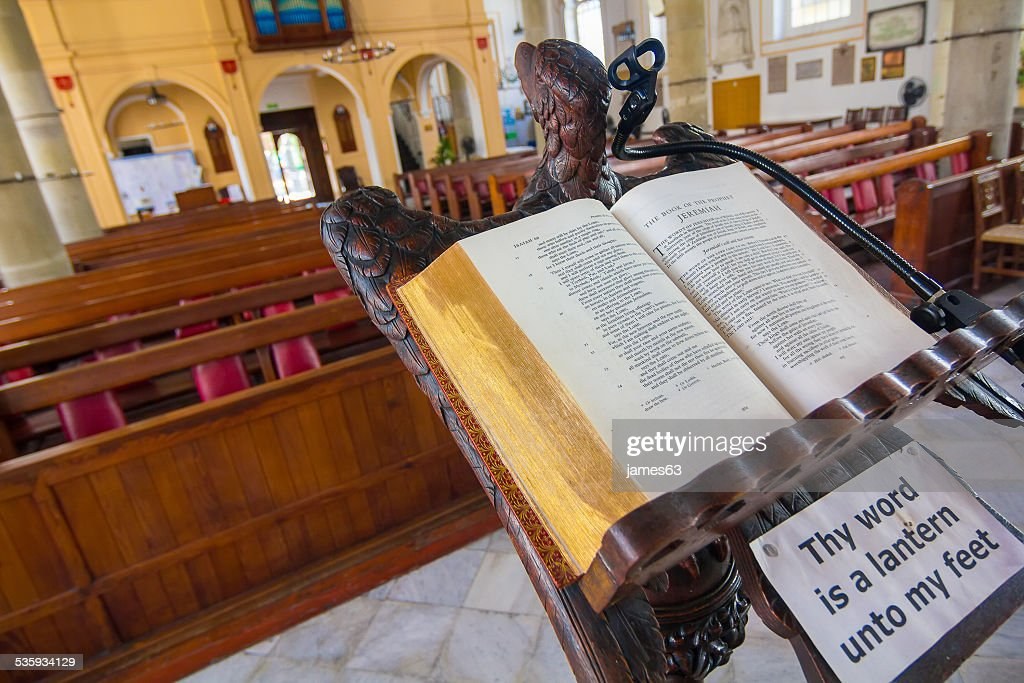 The cathedral anglican europe  of the holy trinity gibraltar : Stock Photo
