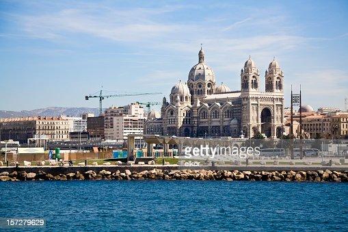 The Cathedral de la Major in Marseille, France