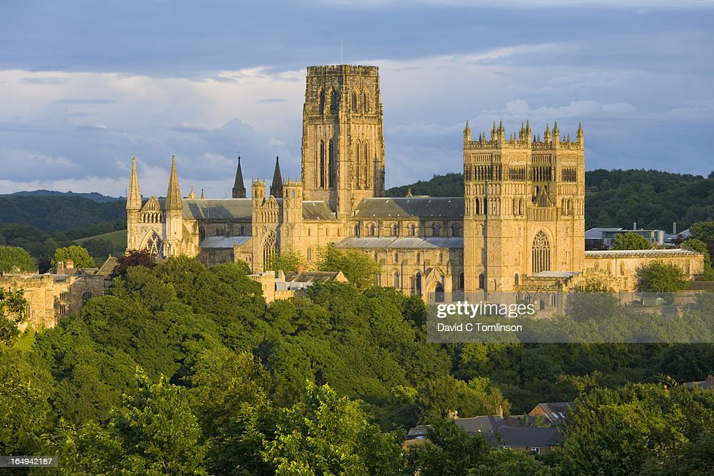 The cathedral, Durham, County Durham, England