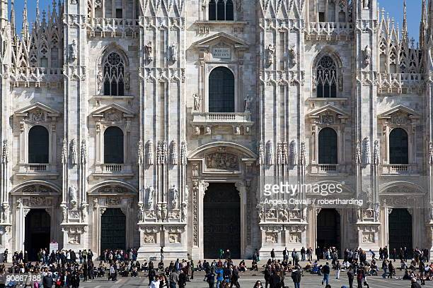 The Cathedral (Il Duomo), Milan, Lombardy, Italy, Europe