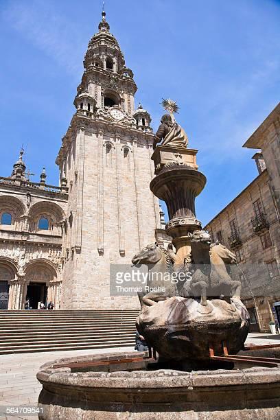 The cathedral of Santiago de Compustela