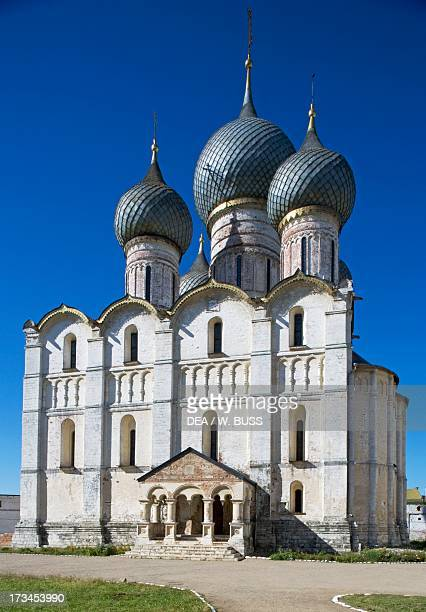 The Cathedral of the Dormition or Uspensky Sobor Kremlin Rostov Russia