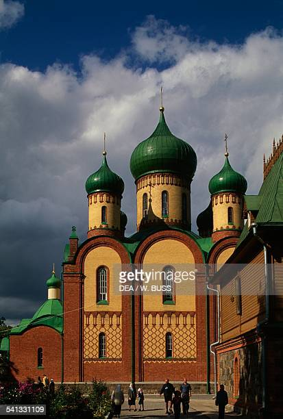 The cathedral of the Russian Orthodox Puhtitsa Convent Estonia
