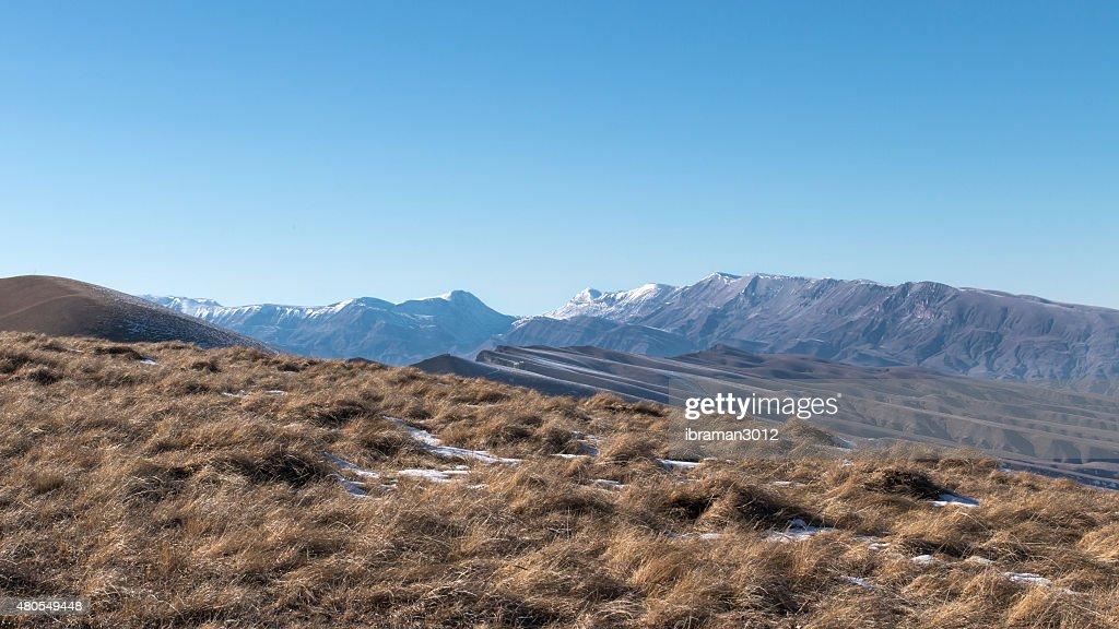 Cordilheira do Cáucaso : Foto de stock
