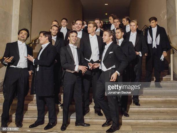 The cavaliers are photographed for Vanity Fair Magazine on November 28 2015 at the Palais de Chaillot in Paris France PUBLISHED IMAGE