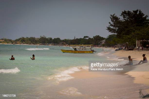 The Caves hotel near the village of Negril Record producer and founder of Island Records Chris Blackwell takes a personal tour around Jamaica...