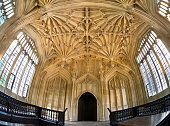 The ceiling of the Divinity School in the Bodleian Library