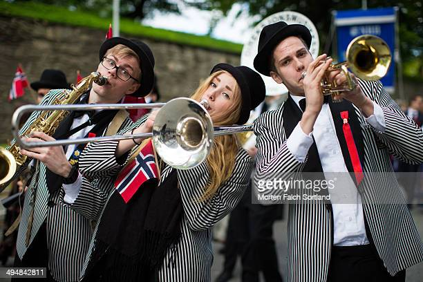 The celebration of Norway's constitution day Grunnlovsdagen is a festivity that virtually the entire population participate in Everyone dress up in...