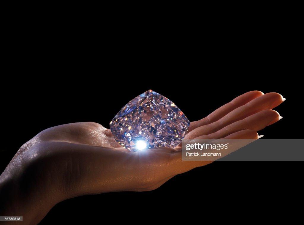 Diamonds Getty Images