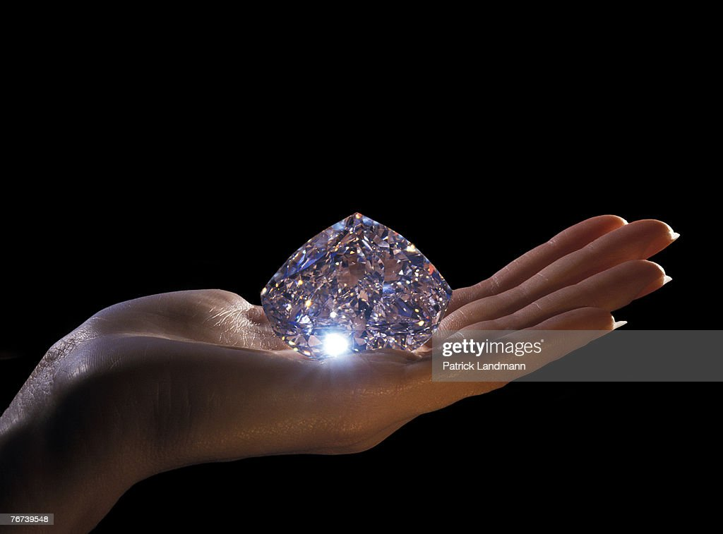 The Centenary diamond on display at the Diamond Trading Company in London It was found on July 17th 1986 by the electric Xray recovery system at the...