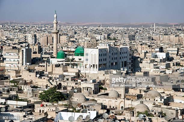 The center of Aleppo, Syria, pre-war, in 2010